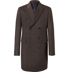 Paul Smith Double-Breasted Wool and Cashmere-Blend Coat