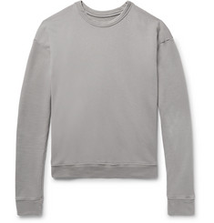 The Elder Statesman Loopback Cotton-Jersey Sweatshirt