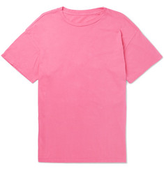 The Elder Statesman Garment-Dyed Cotton-Jersey T-Shirt