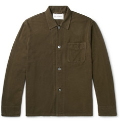Our Legacy Box Cotton-Flannel Overshirt