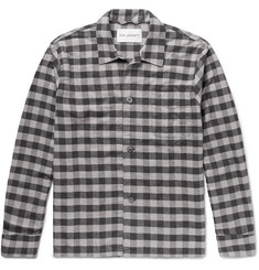 Our Legacy - Gingham Cotton-Flannel Overshirt