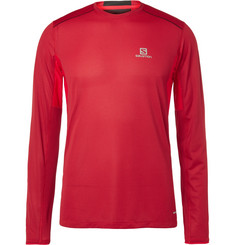 Salomon Trail Runner Mesh-Panelled Jersey T-Shirt
