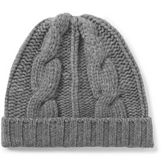Loro Piana - Cable-Knit Cashmere Beanie