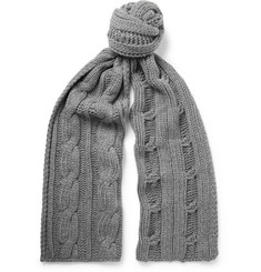 Loro Piana - Cable-Knit Baby Cashmere Scarf