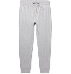 Handvaerk Slim-Fit Tapered Mélange Pima Cotton-Jersey Pyjama Trousers