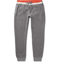 Orlebar Brown Yarwood Tapered Waffle-Knit Cotton Sweatpants