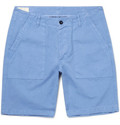 Maison Kitsuné Cotton-Canvas Shorts