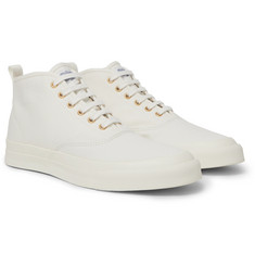 Maison Kitsuné Canvas High-Top Sneakers
