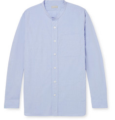 Margaret Howell Grandad-Collar Cotton-Poplin Shirt