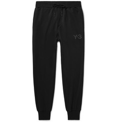 Y-3 Tapered Printed Jersey Sweatpants