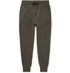 Y-3 Slim-Fit Tapered Printed Loopback Cotton-Jersey Sweatpants