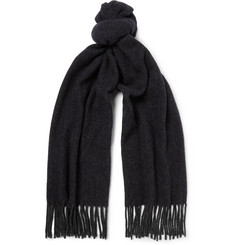 A.P.C. - Fringed Virgin Wool-Felt Scarf