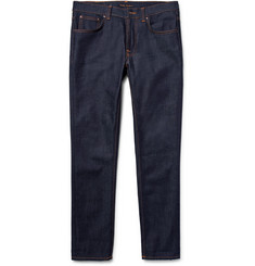 Nudie Jeans - Lean Dean Slim-Fit Dry Organic Denim Jeans
