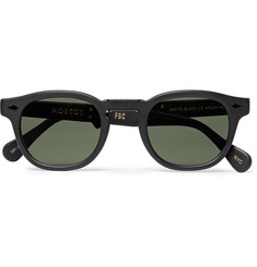 Freemans Sporting Club + Moscot Folding Lemtosh Round-Frame Acetate Sunglasses