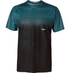 Soar Running Two-Tone Mesh T-Shirt