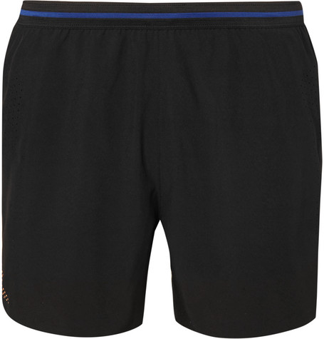SOAR Stretch-Shell Running Shorts - Black
