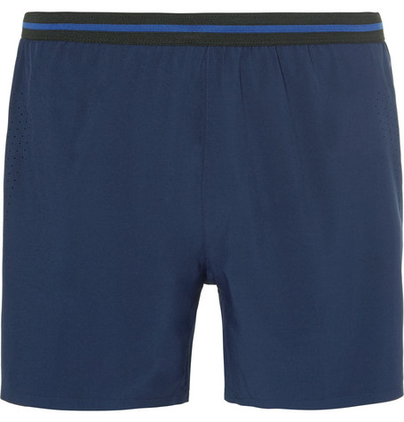 SOAR Stretch-Shell Shorts - Navy