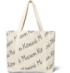 Maison Kitsuné - Printed Canvas Tote Bag