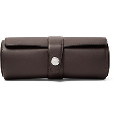 Brunello Cucinelli Grained-Leather Watch Roll