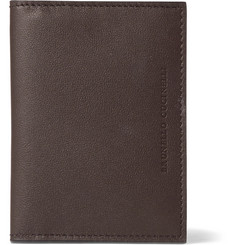 Brunello Cucinelli - Full-Grain Leather Bifold Cardholder