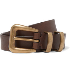 Brunello Cucinelli - 2.5cm Brown Leather Belt
