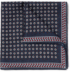 Brunello Cucinelli - Printed Silk Pocket Square