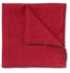 Brunello Cucinelli Wool Pocket Square