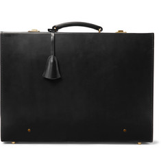 Kingsman + Swaine Adeney Brigg Papworth Leather Briefcase