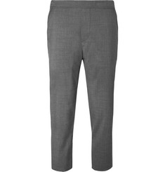 OAMC Slim-Fit Tapered Cropped Wool Drawstring Trousers