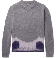 OAMC Moth Oversized Mohair-Blend Sweater