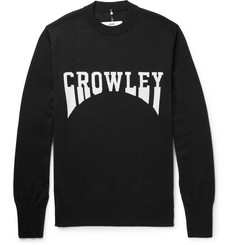 OAMC Crowley Intarsia Virgin Wool Sweater