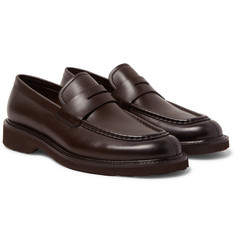 Ermenegildo Zegna - Bartolo Leather Penny Loafers