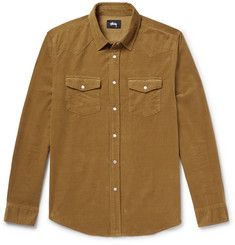 Stüssy - Western Slim-Fit Cotton-Corduroy Shirt