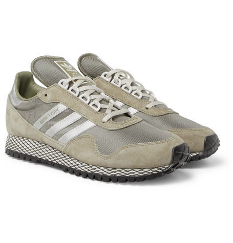 New York Suede And Mesh Sneakers adidas Originals Cheap Sale Exclusive Outlet Finishline Discount Pre Order UlLoE