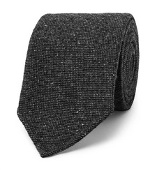 Drake's 8cm Mélange Stretch Wool-Blend Tie