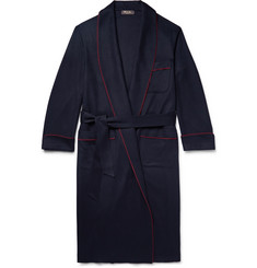 Loro Piana James Piped Baby Cashmere Robe