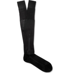 TOM FORD Silk and Cotton-Blend Dress Socks