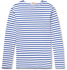 Armor Lux - Striped Cotton-Jersey T-Shirt