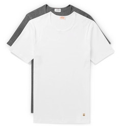 Armor Lux Two-Pack Cotton-Jersey T-Shirts