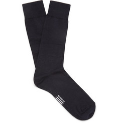 Armor Lux Stretch Cotton-Blend Socks