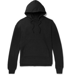 John Elliott Kake Mock Fleece-Back Jersey Hoodie