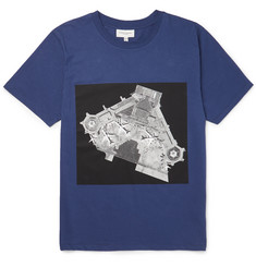 Public School Printed Cotton-Jersey T-Shirt