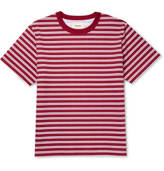 Noon Goons - Surfer Striped Cotton-Jersey T-Shirt