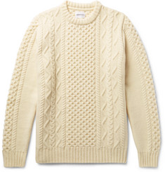 Norse Projects - Arild Slim-Fit Cable-Knit Wool Sweater
