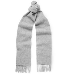 Norse Projects + Johnstons Fringed Wool Scarf