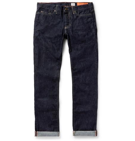 + Jean Shop Tequila's Statesman Selvedge Denim Jeans - Indigo