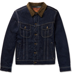Kingsman + Jean Shop Tequila's Statesman Blanket-Lined Selvedge Denim Jacket