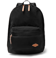 Battenwear - Cotton Canvas-Trimmed Nylon Backpack