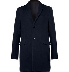 Folk - Wool and Cotton-Blend Overcoat