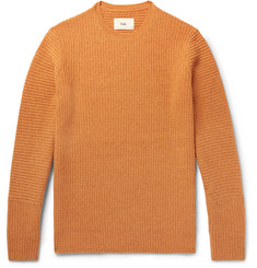 Folk Signal Ribbed Wool Sweater